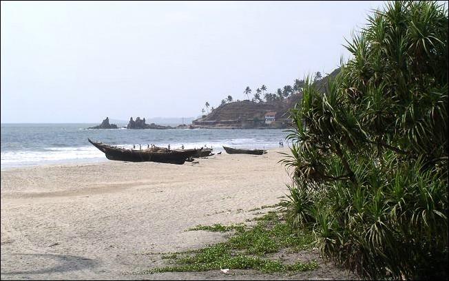 Пляж арамболь гоа отели